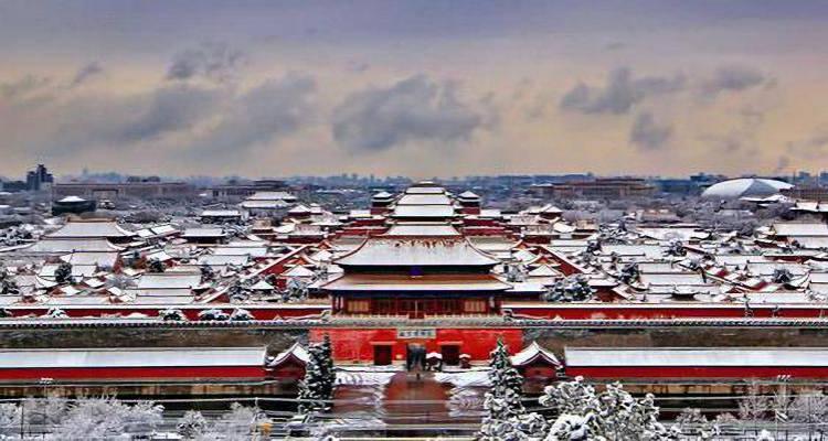 夕阳红北京天津双飞五日游