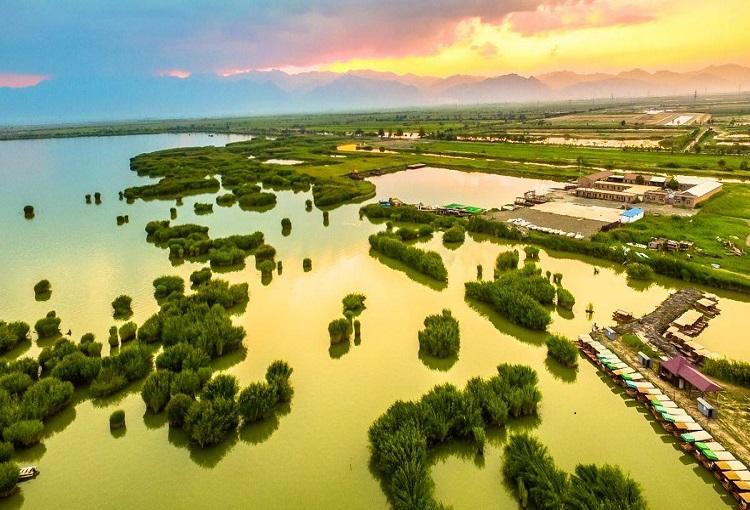 宁夏适合夏季游玩的5A景区分享-石嘴山沙湖介绍-宁夏石嘴山沙湖攻略