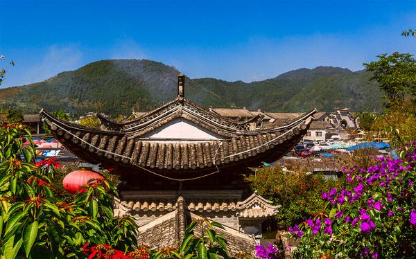 腾冲县和顺镇风景