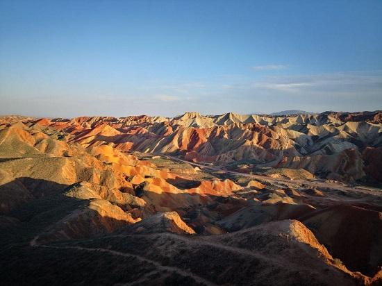 张掖丹霞国家地质公园